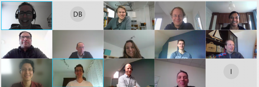 Group picture of the SuCoHS consortium during the month 30 virtual meeting